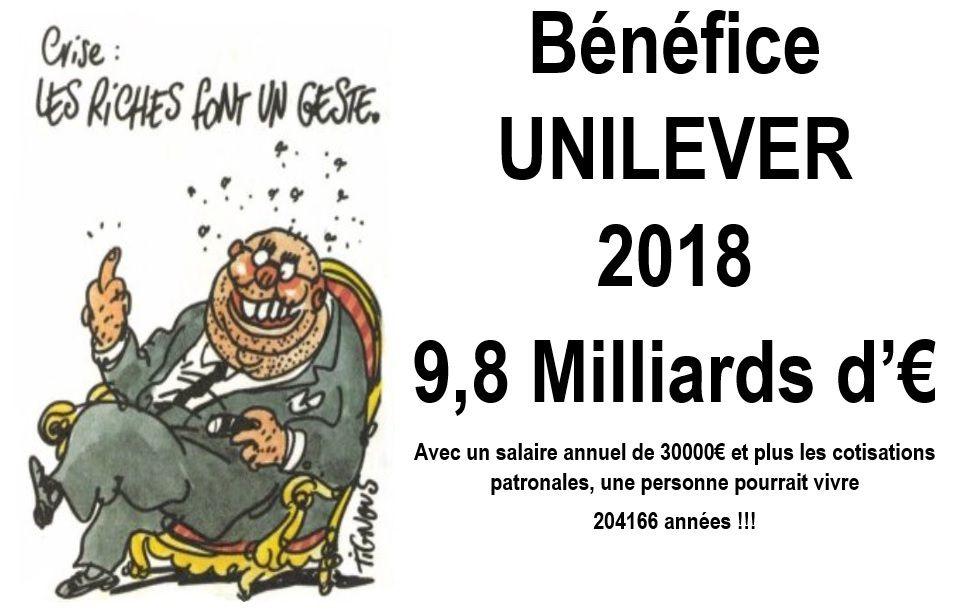 """Comment une multinationale multimilliardaire """"Unilever MIKO"""" (saint Dizier) se prépare à amplifier l'exploitation des travailleurs"""