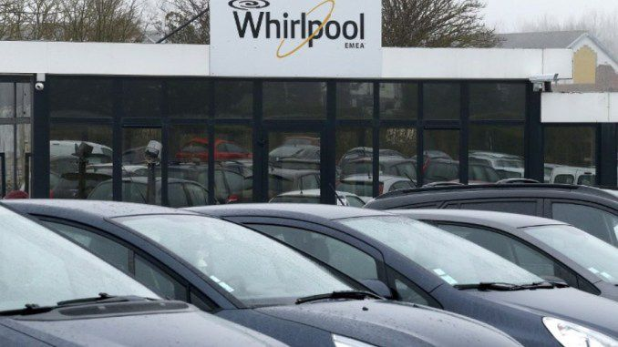 L'usine Whirlpool d'Amiens — FRANCOIS NASCIMBENI / AFP