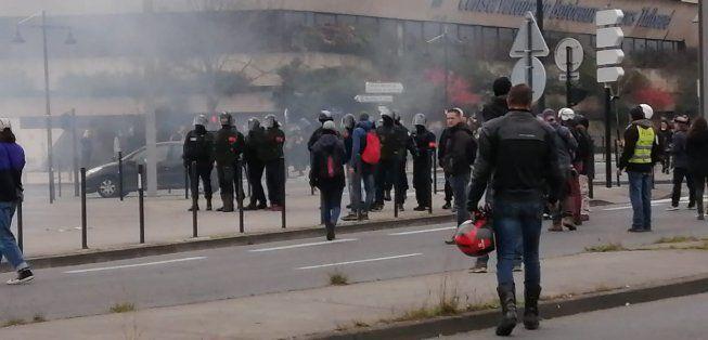 Bordeaux. La manifestation Gilets Jaunes durement réprimée !