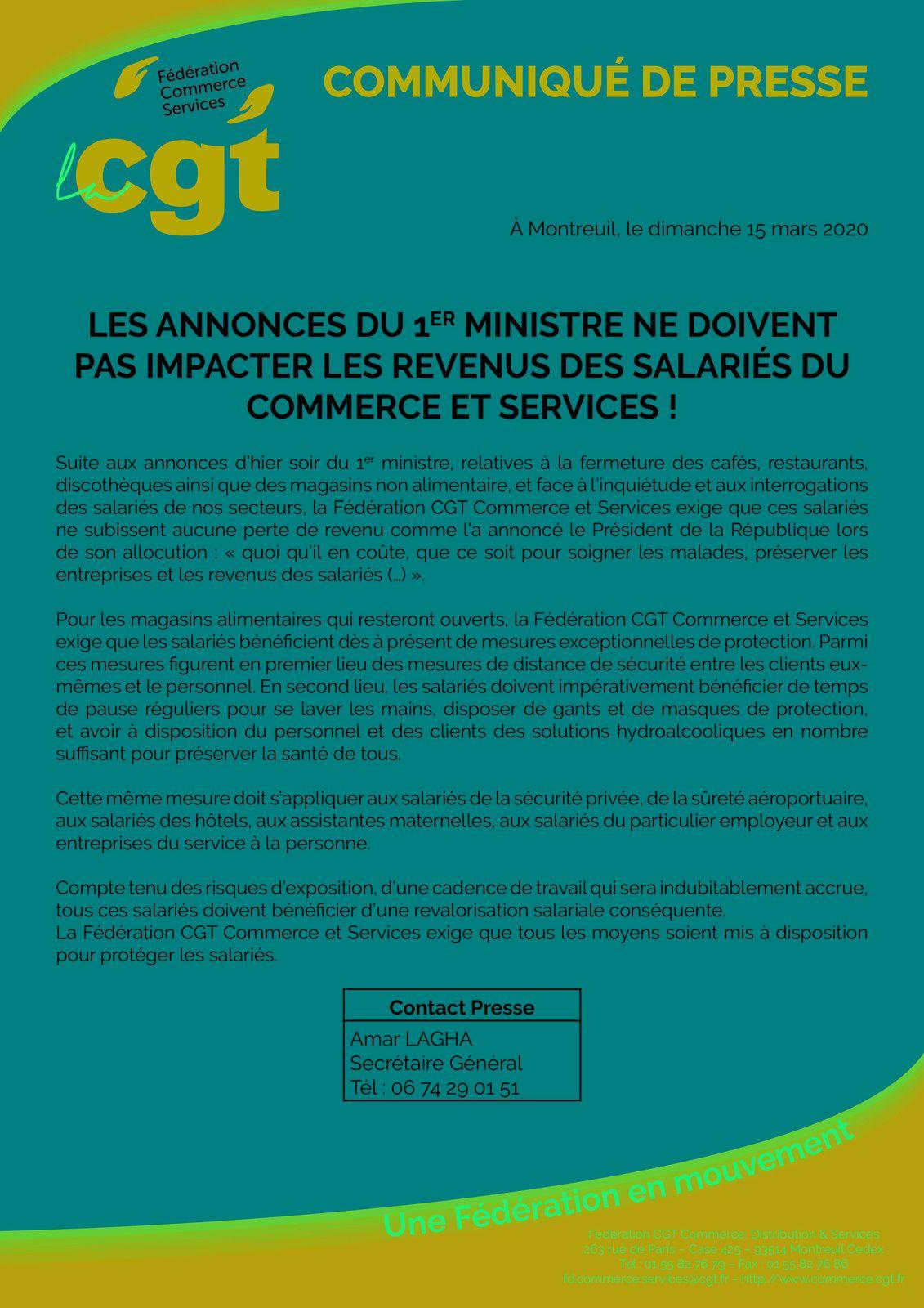 Les droits et la protection des salariés du commerce