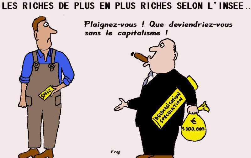 Pendant ce temps-là, les riches continuent à s'enrichir