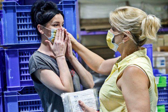 Le gouvernement définit le non-port du masque comme un nouveau motif de licenciement