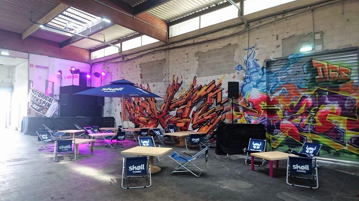 Aérosol: un nouveau lieu dédié au street art à Paris