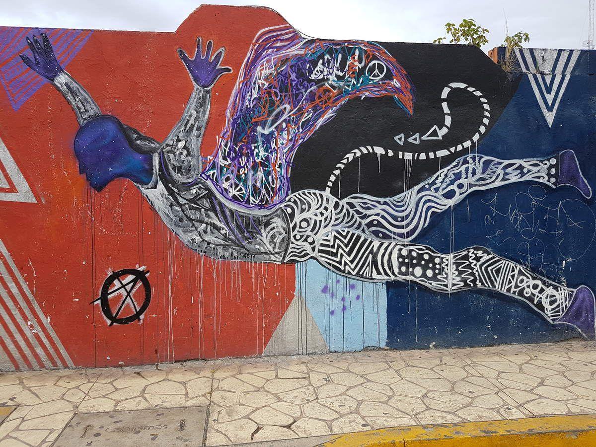 Street art à Playa Del Carmen,Mexique