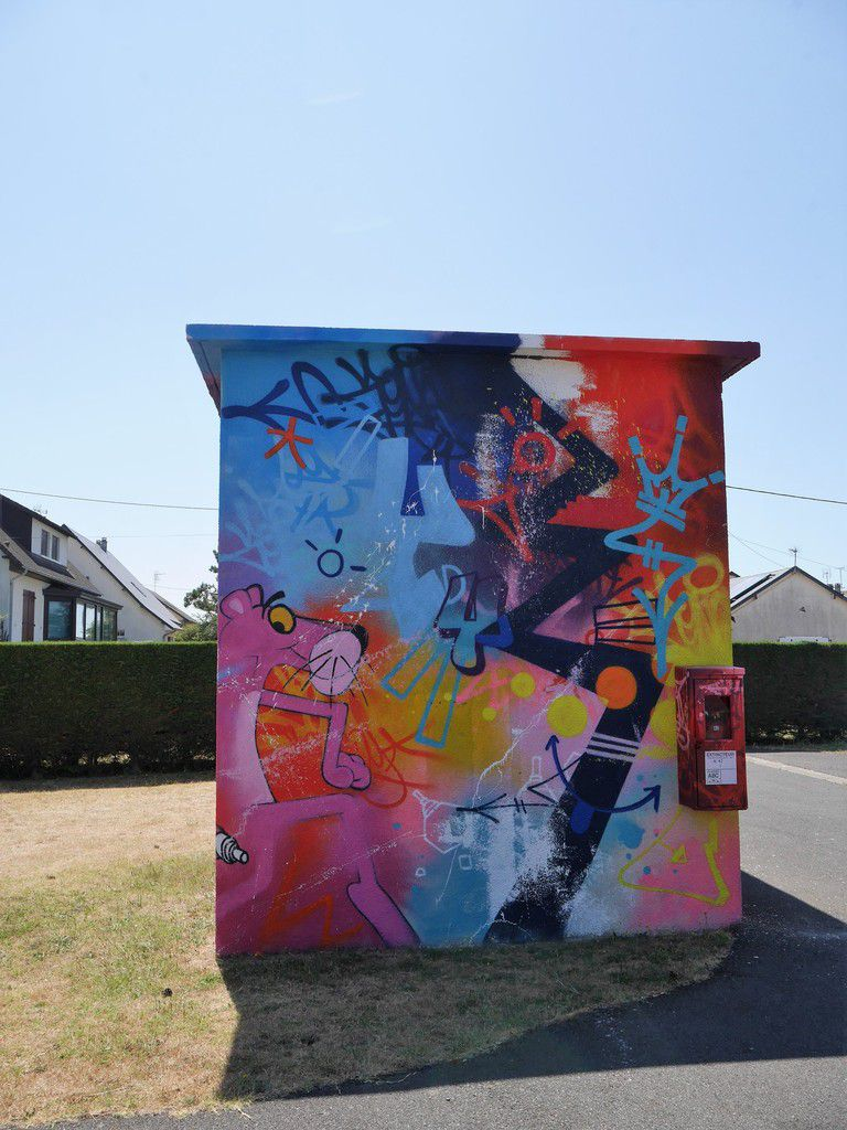 Street art en Normandie