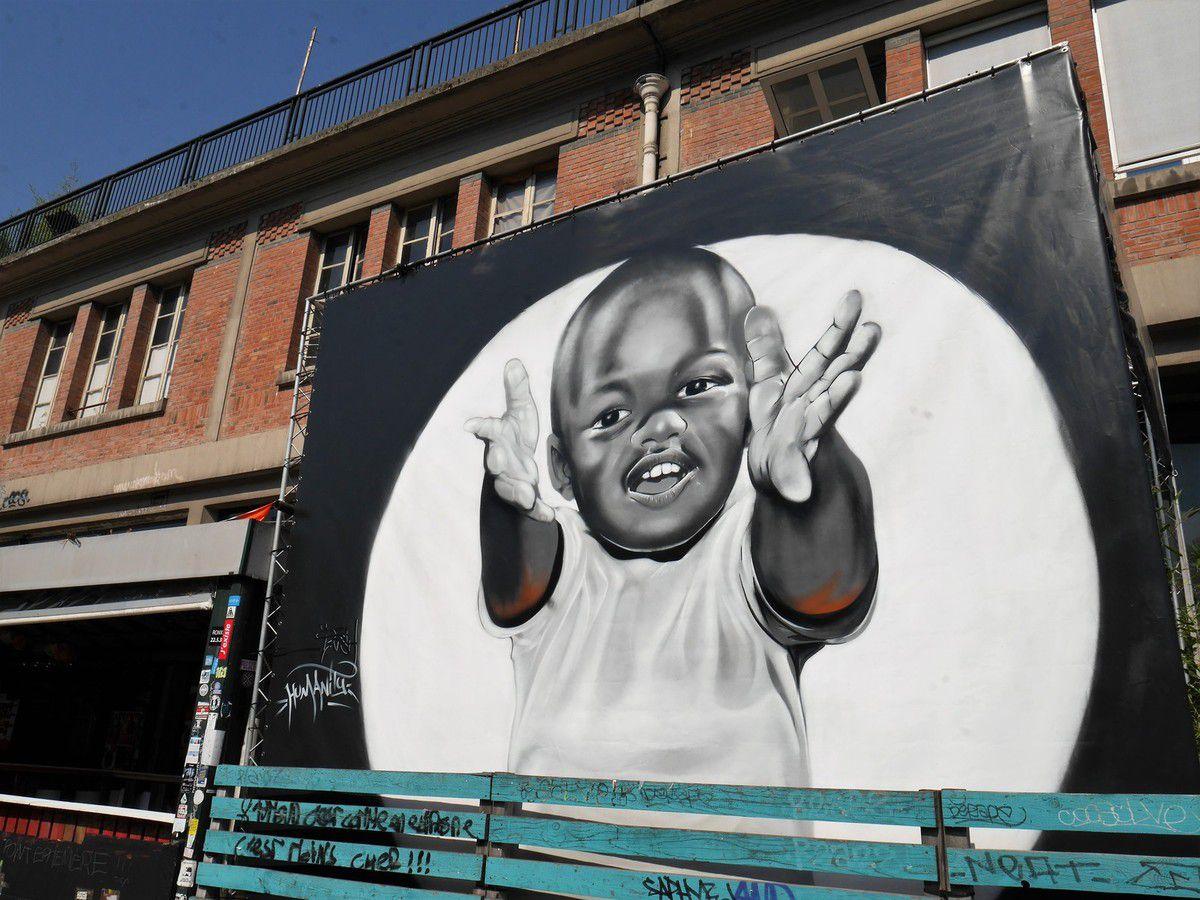 Du street art avec les studios Harcourt