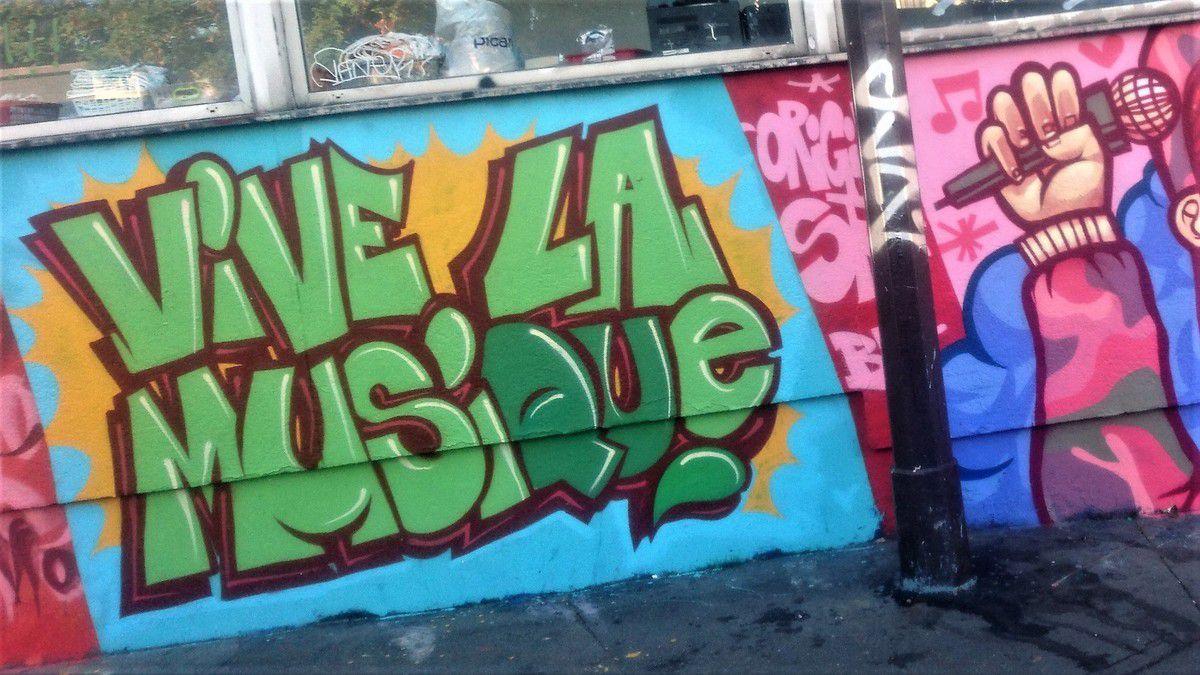 Balade street art dans le 10ème arrondissement de Paris