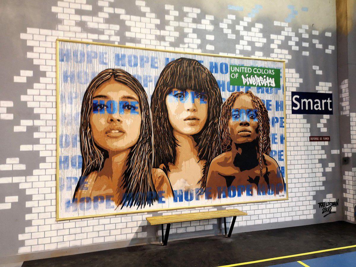 Le street art envahit un gymnase avant démolition à Saint-Maur-Des-fossés