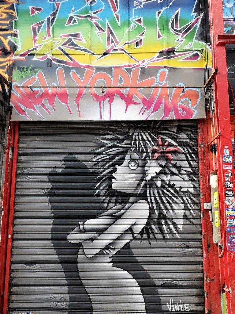 Balade street art aux puces de Saint-Ouen