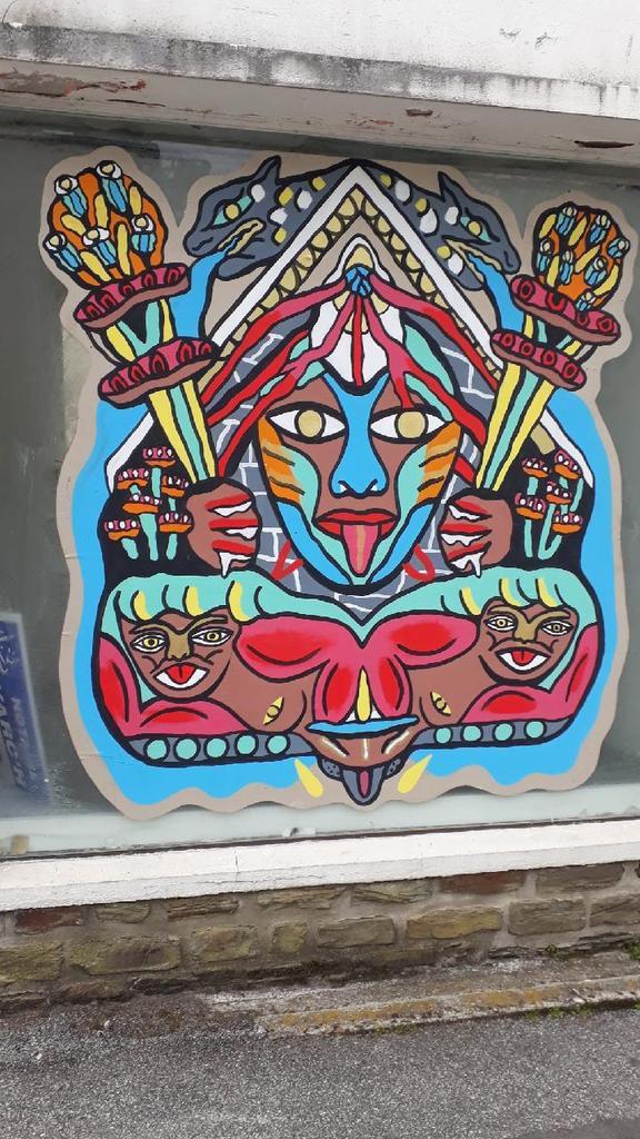 Festival de street art à Carhaix (vive la Bretagne)