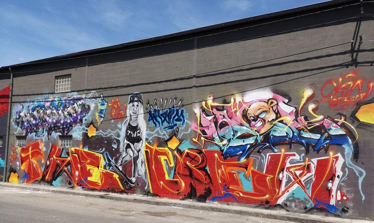 Auber Graff Show, le festival de graffiti à Aubervilliers