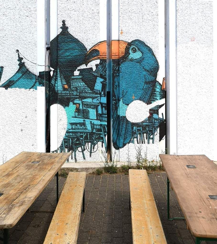 Rosa Bonheur à l'ouest et street art
