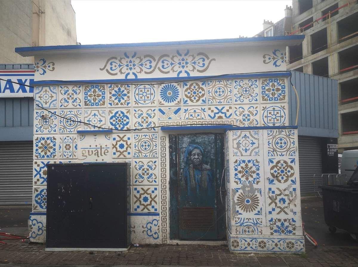 Street art à Saint-Denis