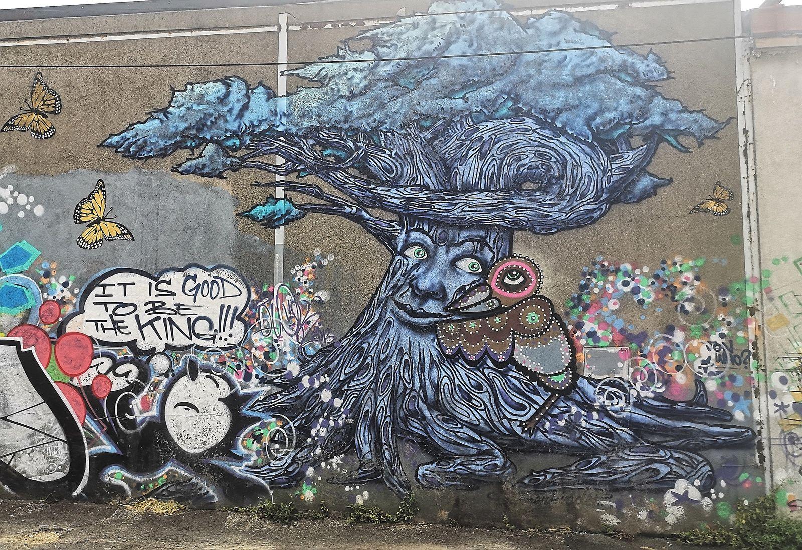 Balade street art à Montreuil