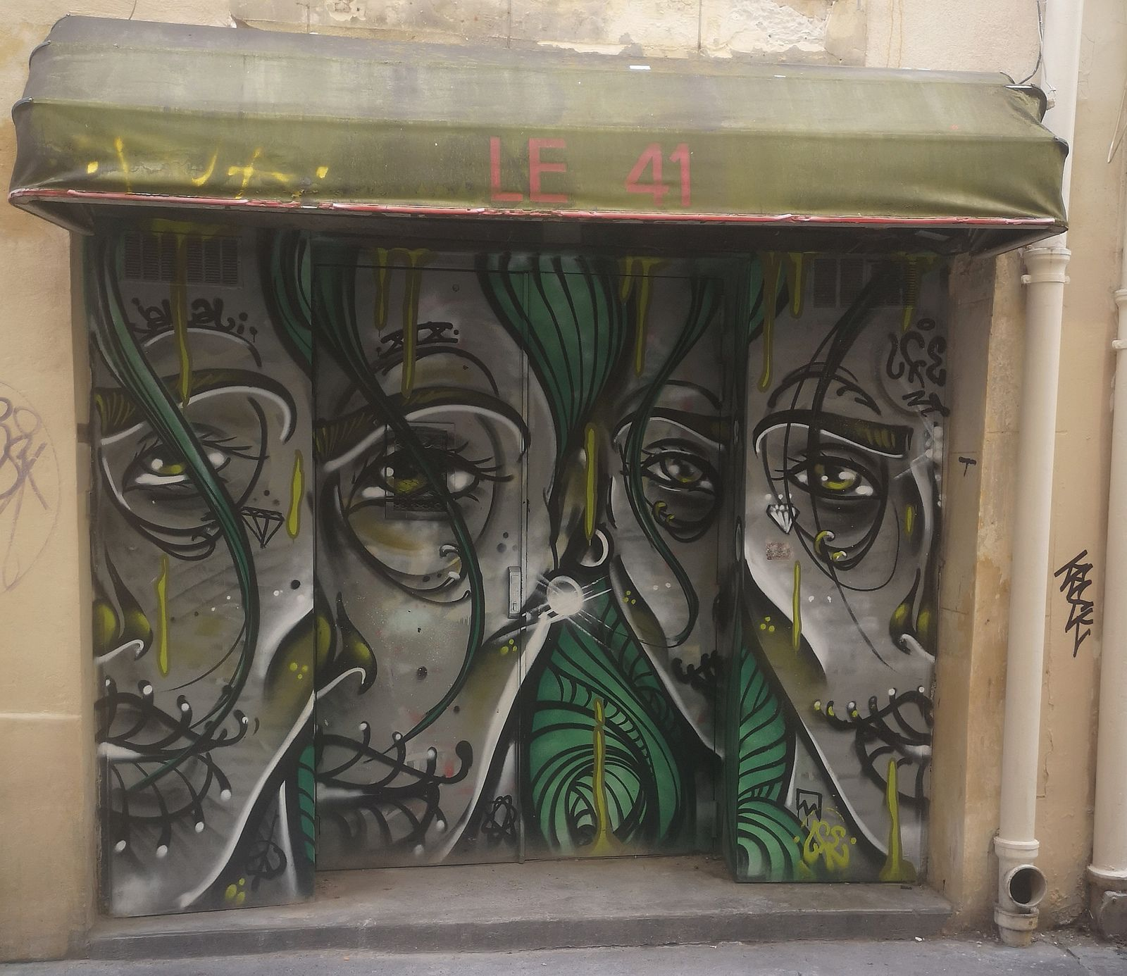 Street art en plein coeur du Marais