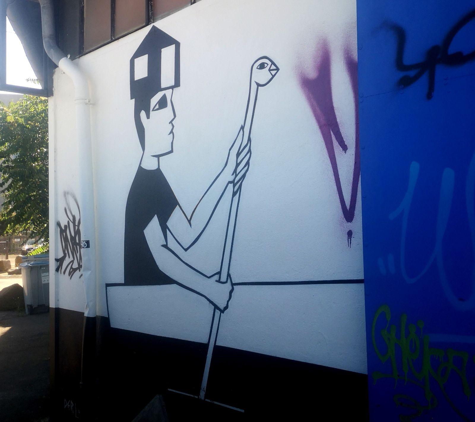 Île de Nantes: les machines de l'île et le street art