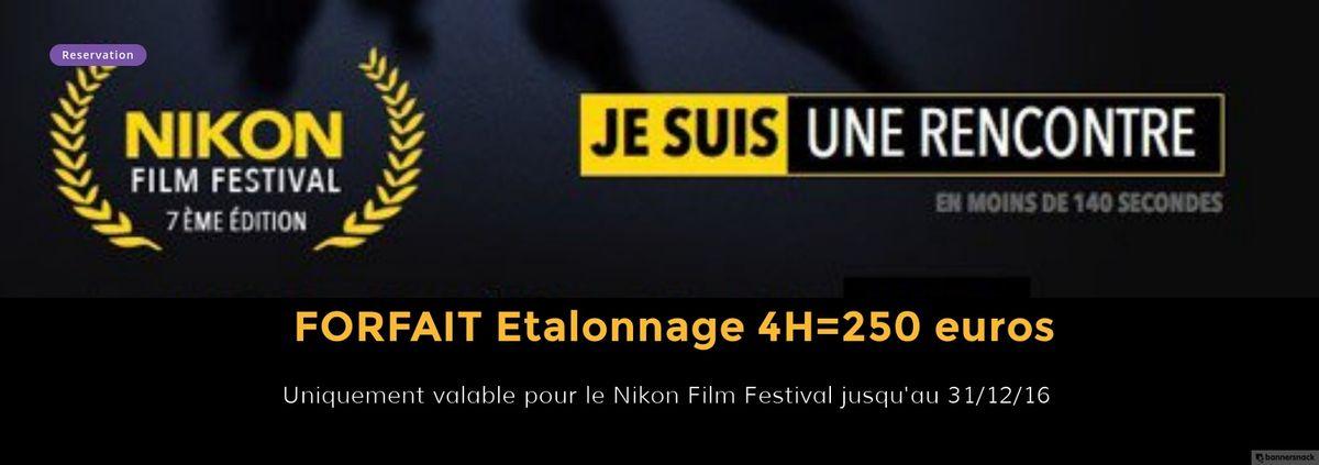 Participation au Nikon film festival - 7eme edition. Je suis une rencontre.