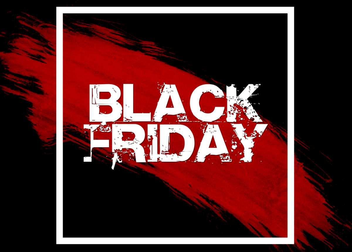 Black friday… Enfin un vendredi qui ne porte pas la poisse !!!