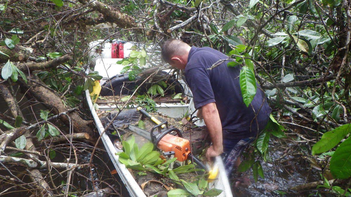 Chronique guyanaise, La seconde remontée du fleuve, 2 avril 2014