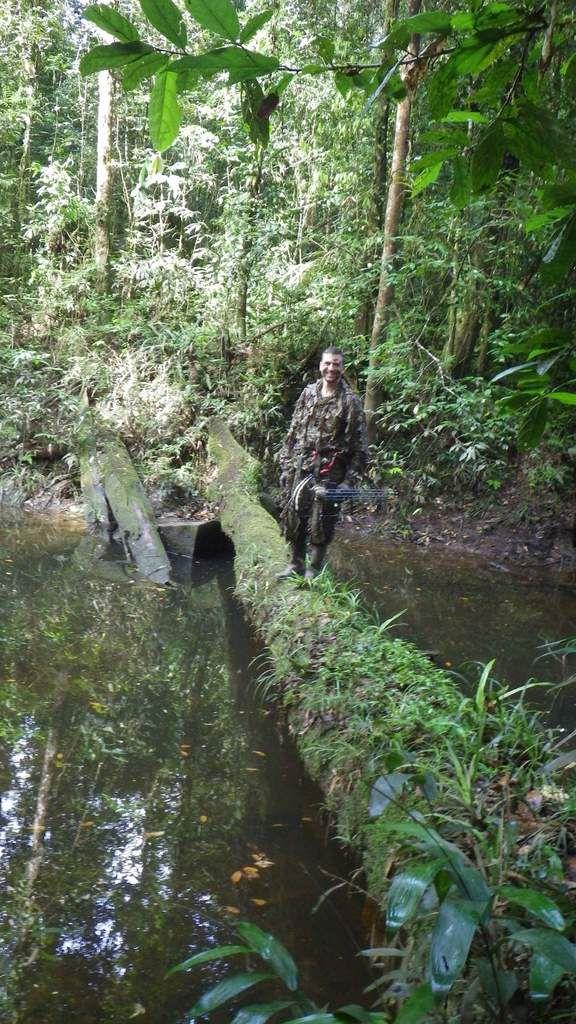 Chronique guyanaise, première chasse en forêt, 26 mars 2013