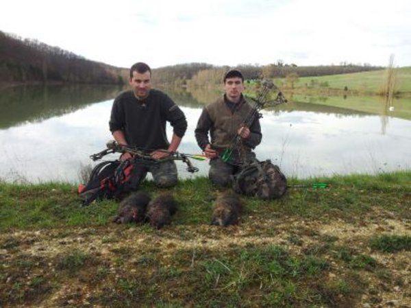 Un bon petit week end entre archers, 8, 9 et 10 mars 2013