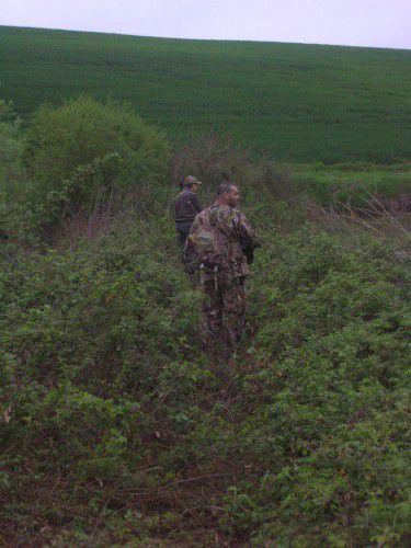 Week end chasse avec les gars du 06