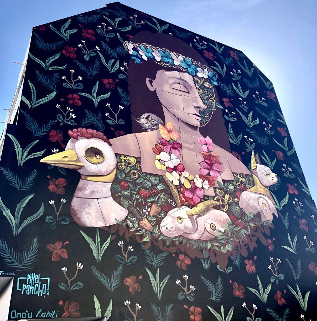 Street art a Papeete