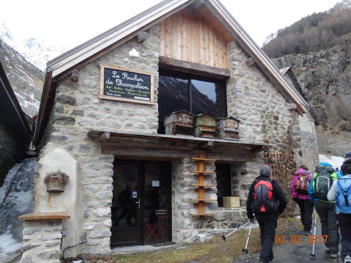 Séjour à Orcières Merlette  avec le Club Pédestre Chabeuillois