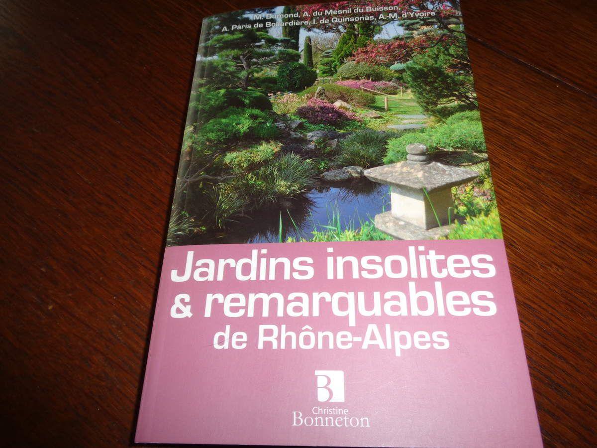 """Le guide """"jardins insolites et remarquables """" Mars 2011"""