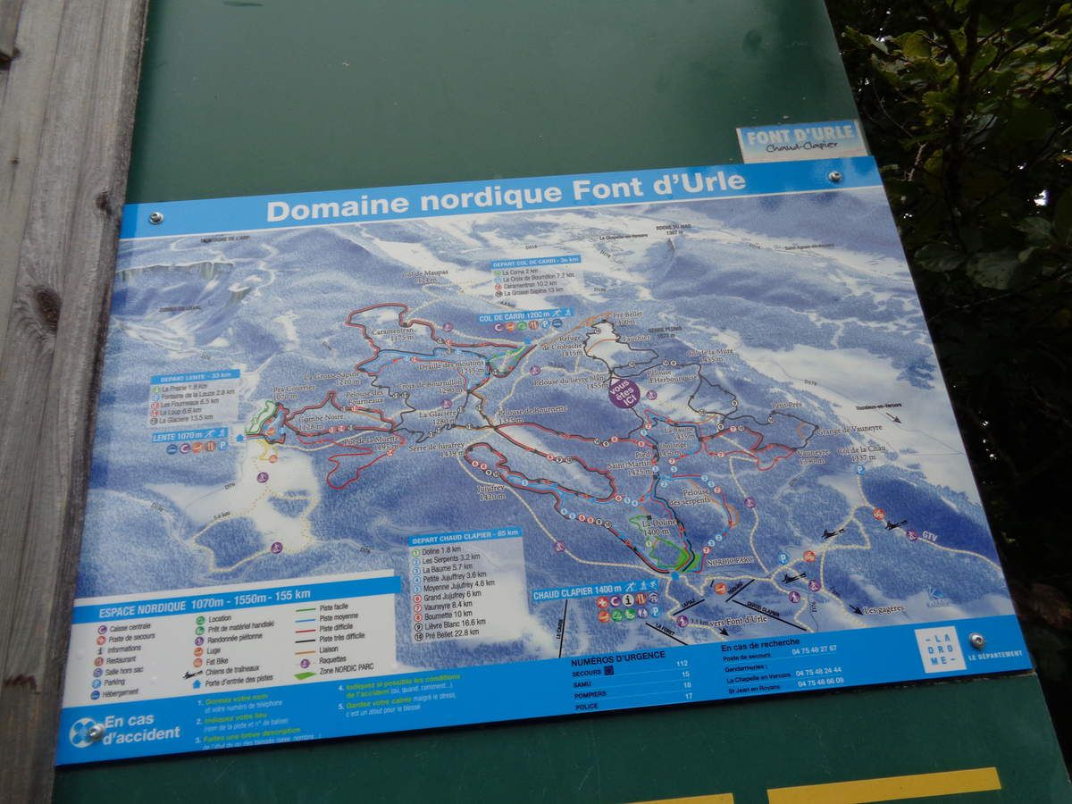 Col de Carri  Serre Plumé -Une de mes  randonnée dans le Vercors