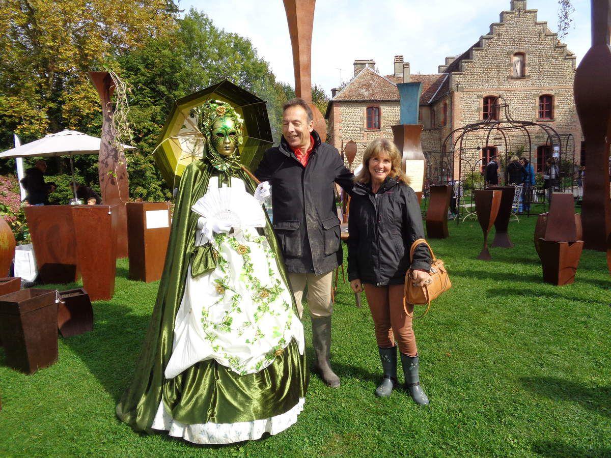 Très bel accueil ,j'ai adoré les costumes et j'ai eu la chance de parler un peu à monsieur de Virieu ......