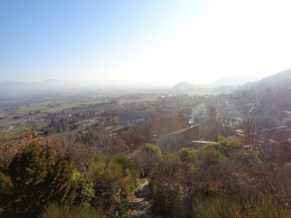 Mes randonnées pédestres Le chemin des fileuses à Marsanne