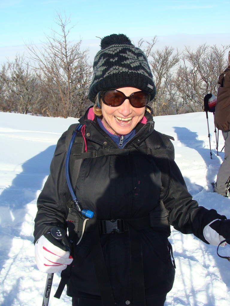 Onzième sortie de l'hiver en raquettes à Lente au sommet du Serre de Montué avec U.S.C.B.  de Bésayes
