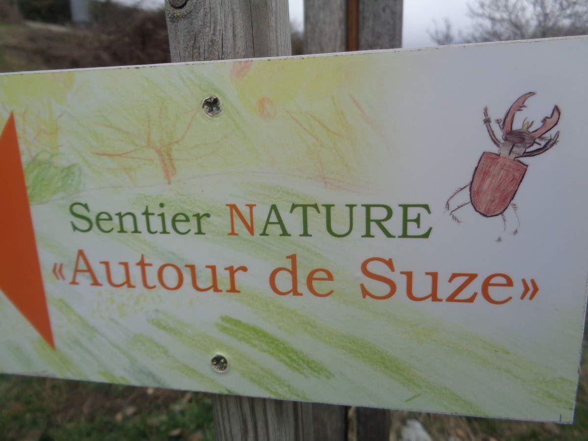 Mes randonnées :Vieux Suze St Pancrace  Gigors