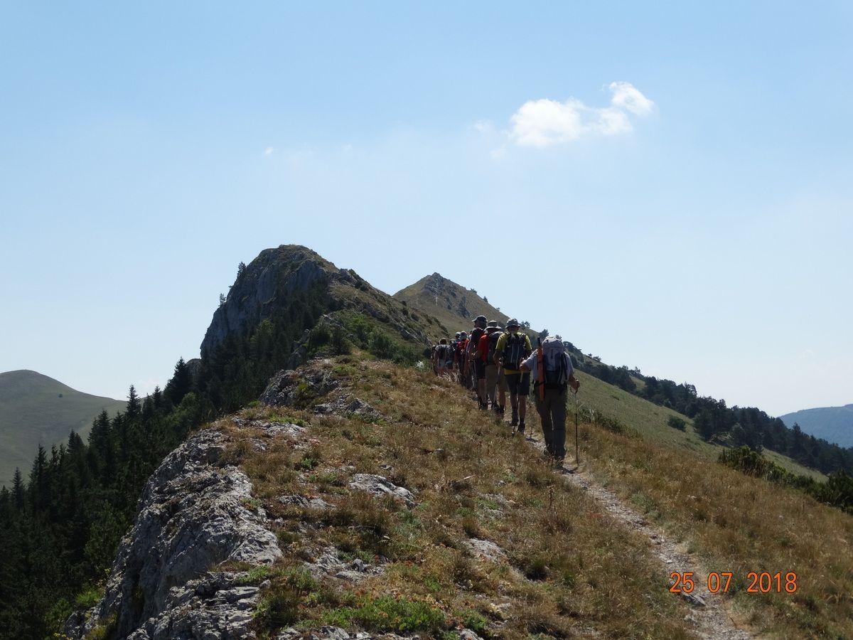 Montagne de l'Aup Station Valdrôme avec le Club pédestre Chabeuillois (CPC)