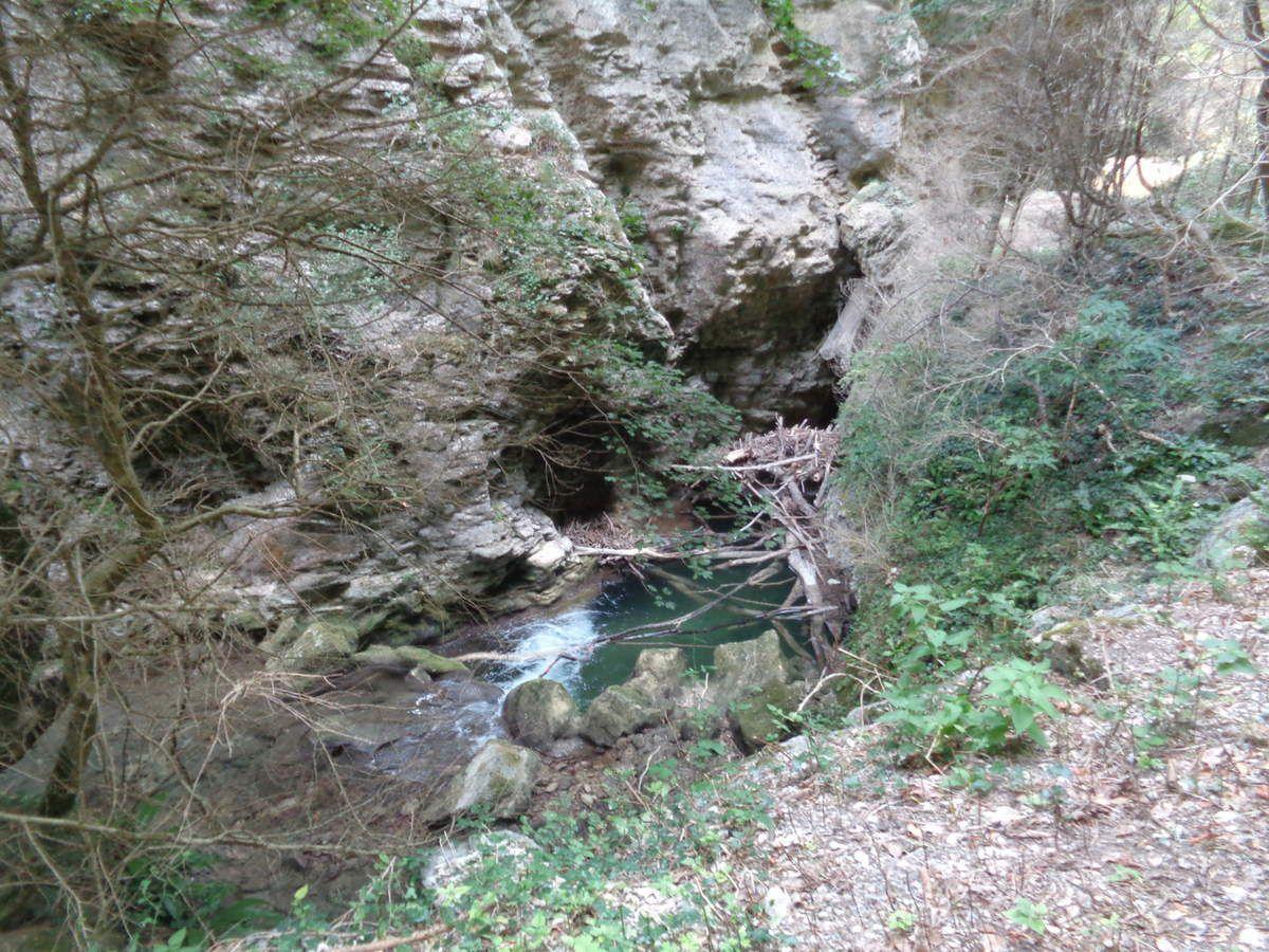 Mes randos Le Canyon des Gueulards avec le Club Pédestre Chabeuillois