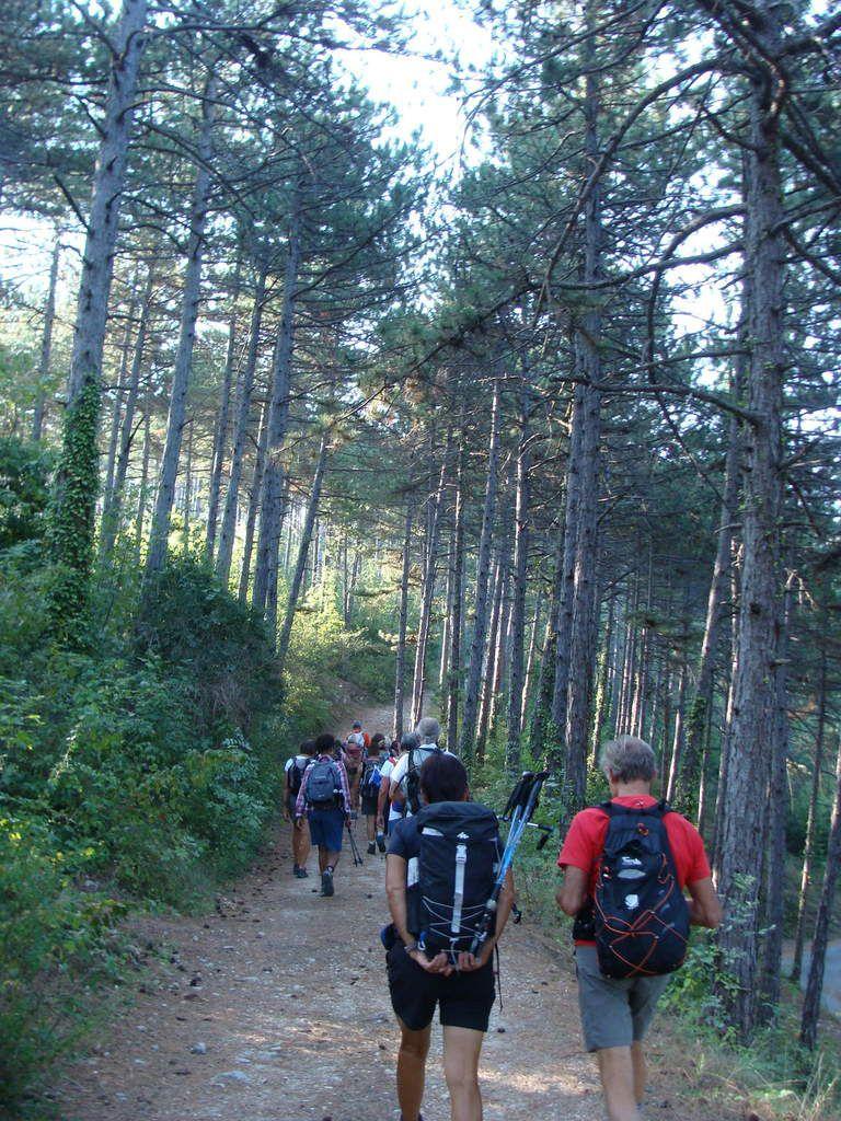 Notre rando. du mercredi : Col de Papillière - Mirmande 26 avec le Club pédestre Chabeuillois (CPC)