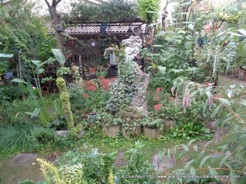 Mon jardin Le Clos fleuri ce 10 septembre 2018 .....