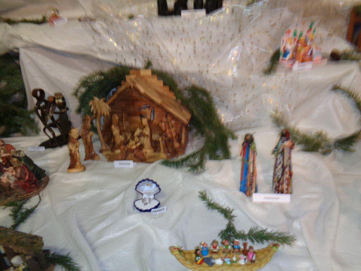 Notre randonnée ''Les Crèches de Noël Boucieu-le-Roi 07''  avec le club pédestre Chabeuillois