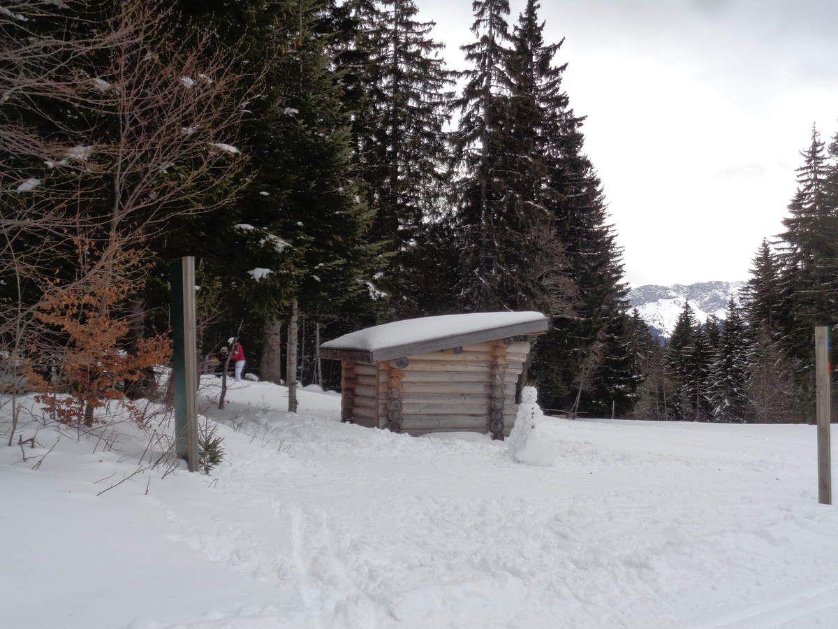 Notre deuxième sortie raquettes neige de la saison : Méaudre