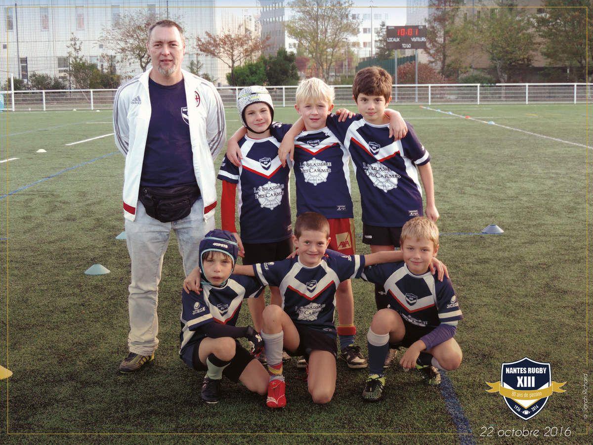 Demain, tournoi pour l'école de rugby