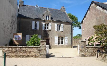 Maison natale d'Alain-René Lesage  (Crédit Photo : Service Patrimoine, Mairie de Sarzeau)