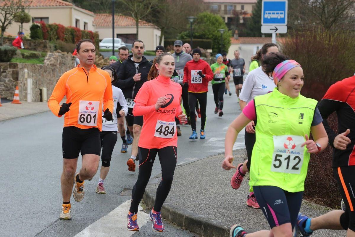Nos athlètes sur le 9 km (Dossards 570-522-498-546-477-523-501-437-553-512-606-580)