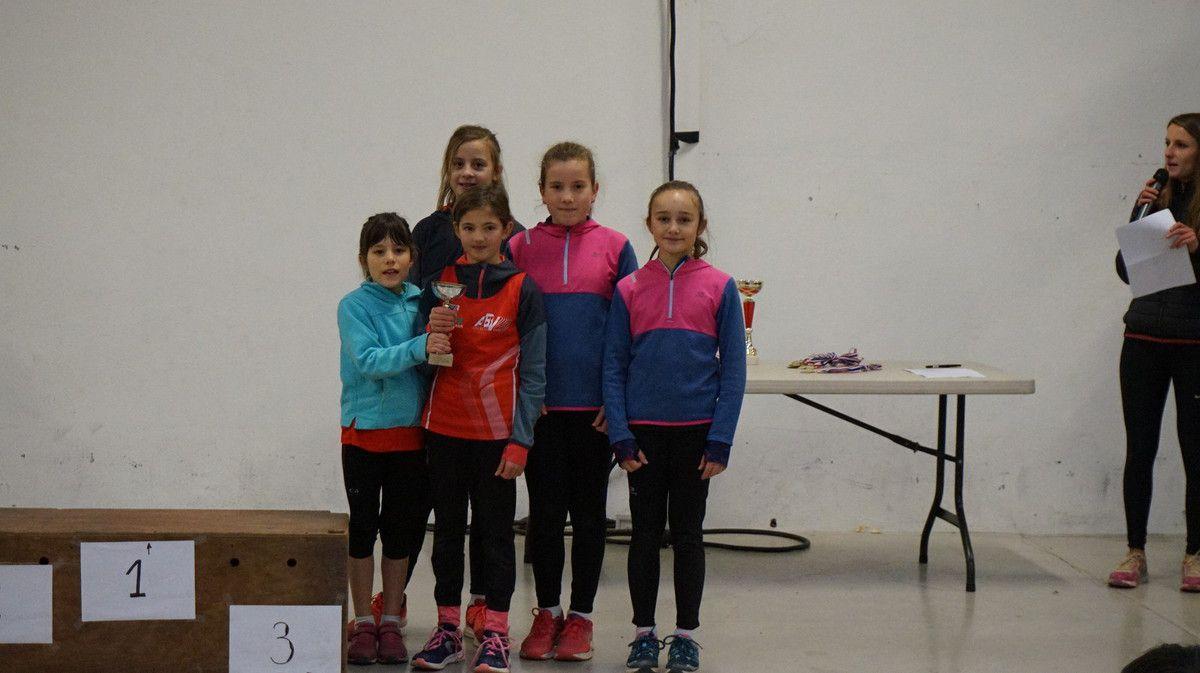Nos athlètes et les podiums.