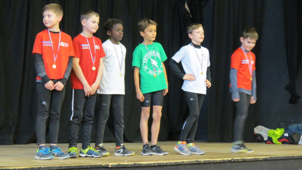 En complément des résultats de l'article précédent, voici nos jeunes athlètes au Kid's Athlé de Mortagne le 27 janvier dernier