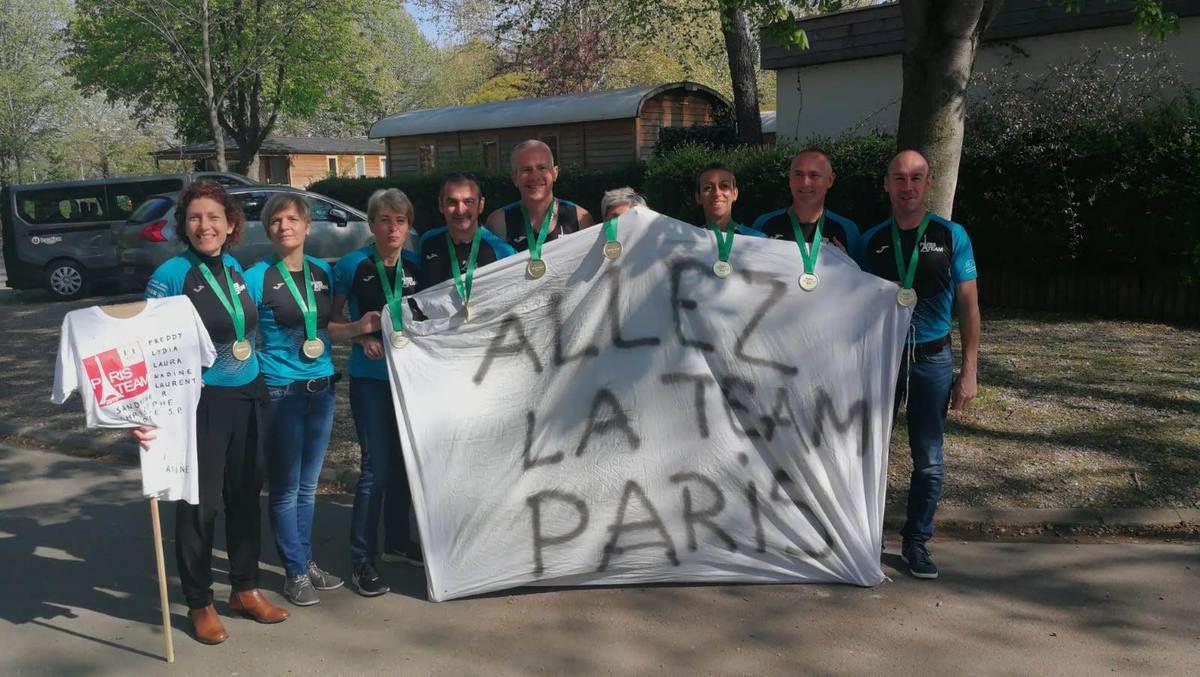 Marathon de Paris…Tous FINISHERS!!!