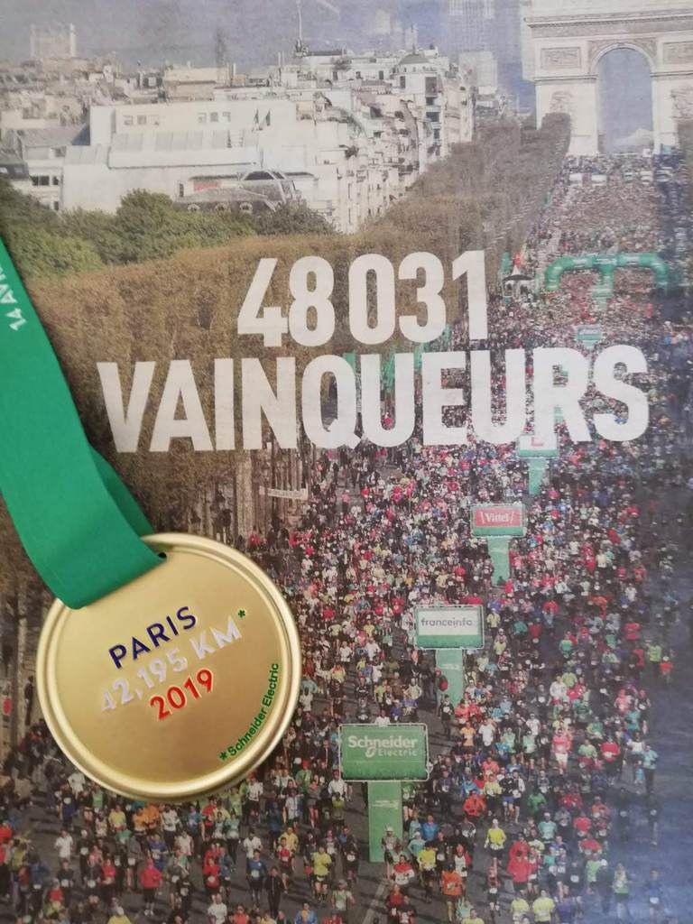 Marathon de Paris…Tous FINISHERS !!!