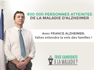 PRESIDENTIELLE 2017 : CAMPAGNE D'INTERPELLATION DE L'ASSOCIATION FRANCE ALZHEIMER
