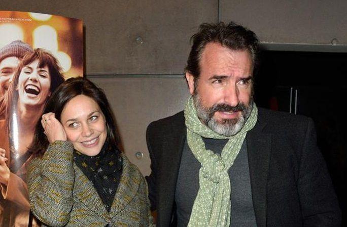 Jean Dujardin avec sa nouvelle compagne au cinéma LE MELIES