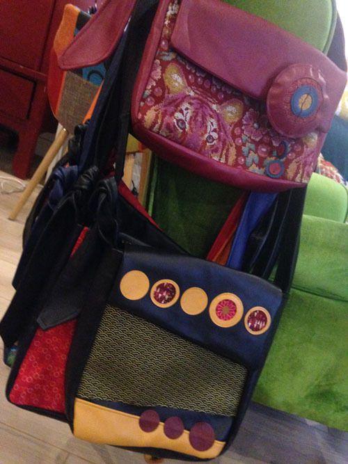 Des sacs pour la boutique de Lou&Cie à Thonon !